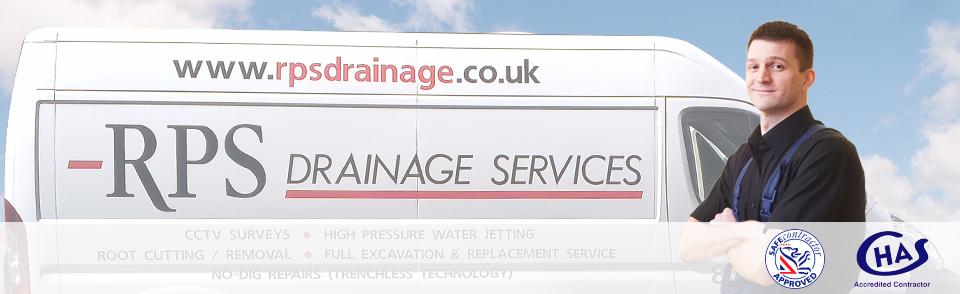 RPS Drainage Services van