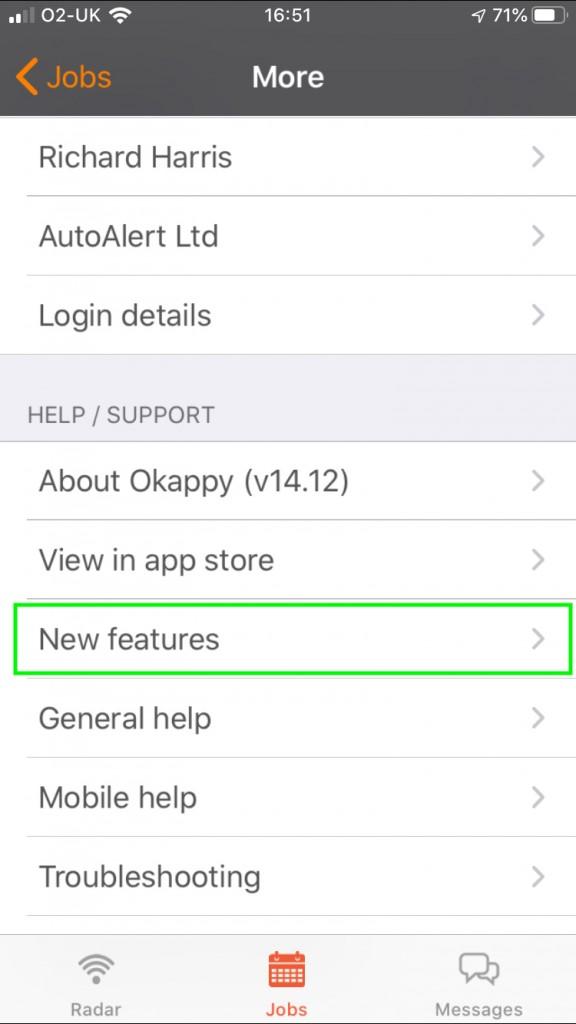 iOS App Updates Latest Features