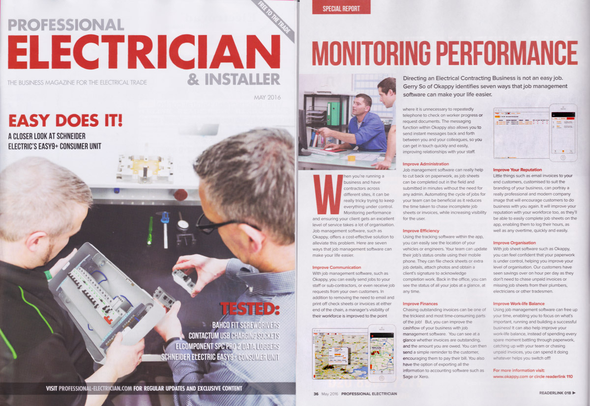 Professional Electrician & Installer Magazine - May 2016 issue