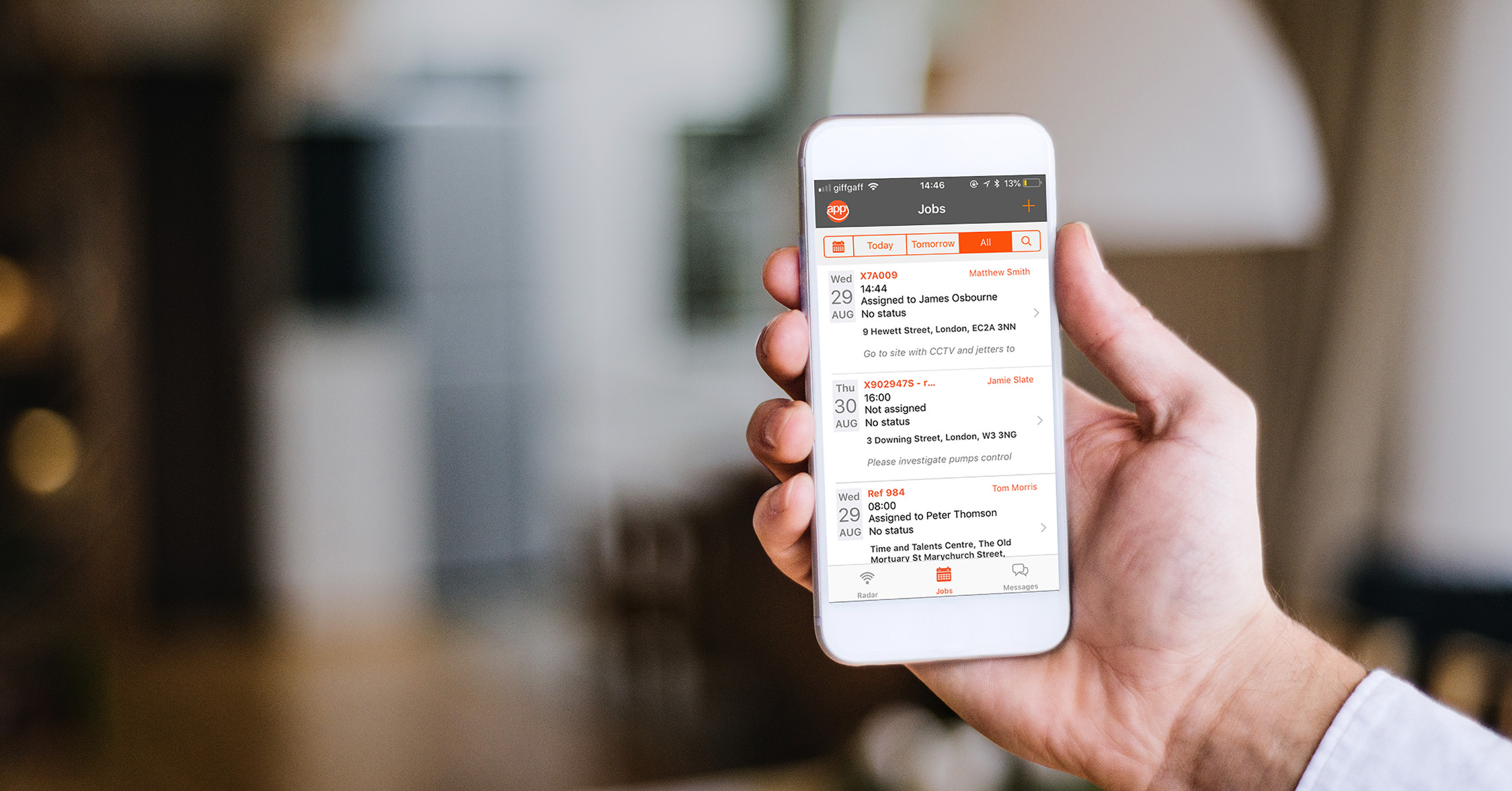 Workforce management on your iPhone