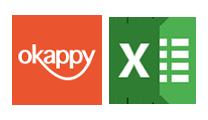 okappy microsoft excel logos