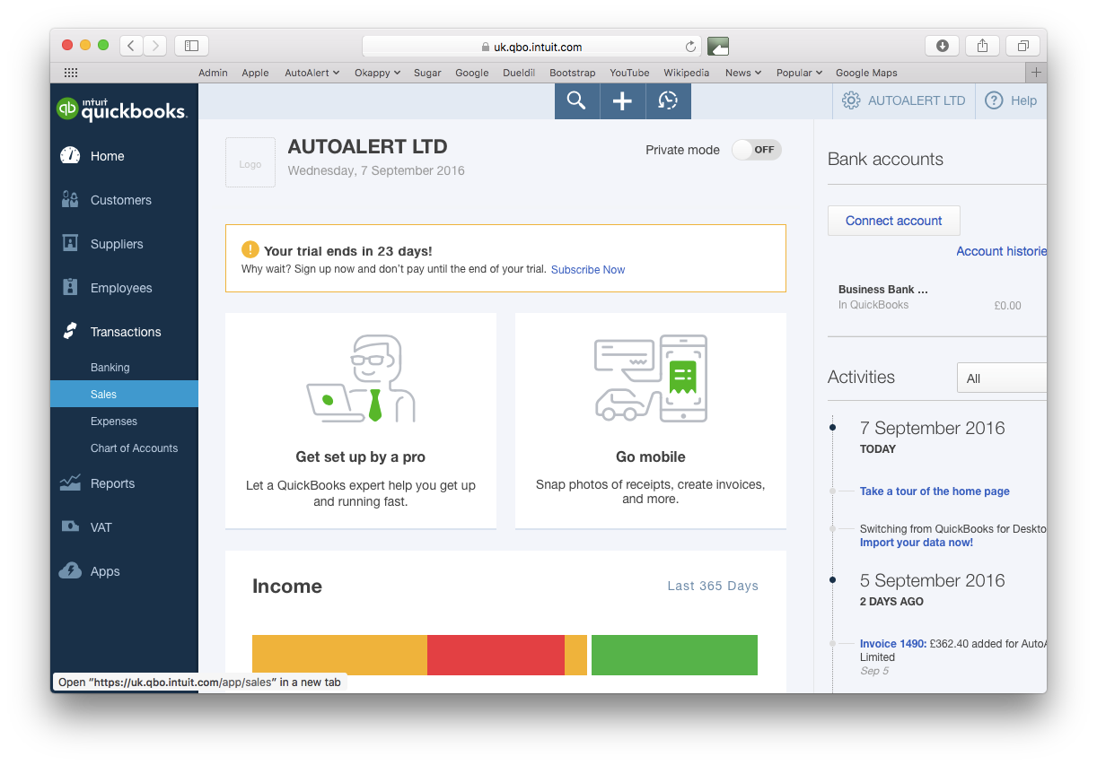 Export your invoice to Quickbooks  Export your inv...
