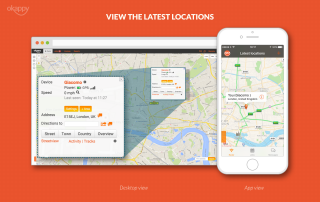Radar latest locations desktop and mobile view