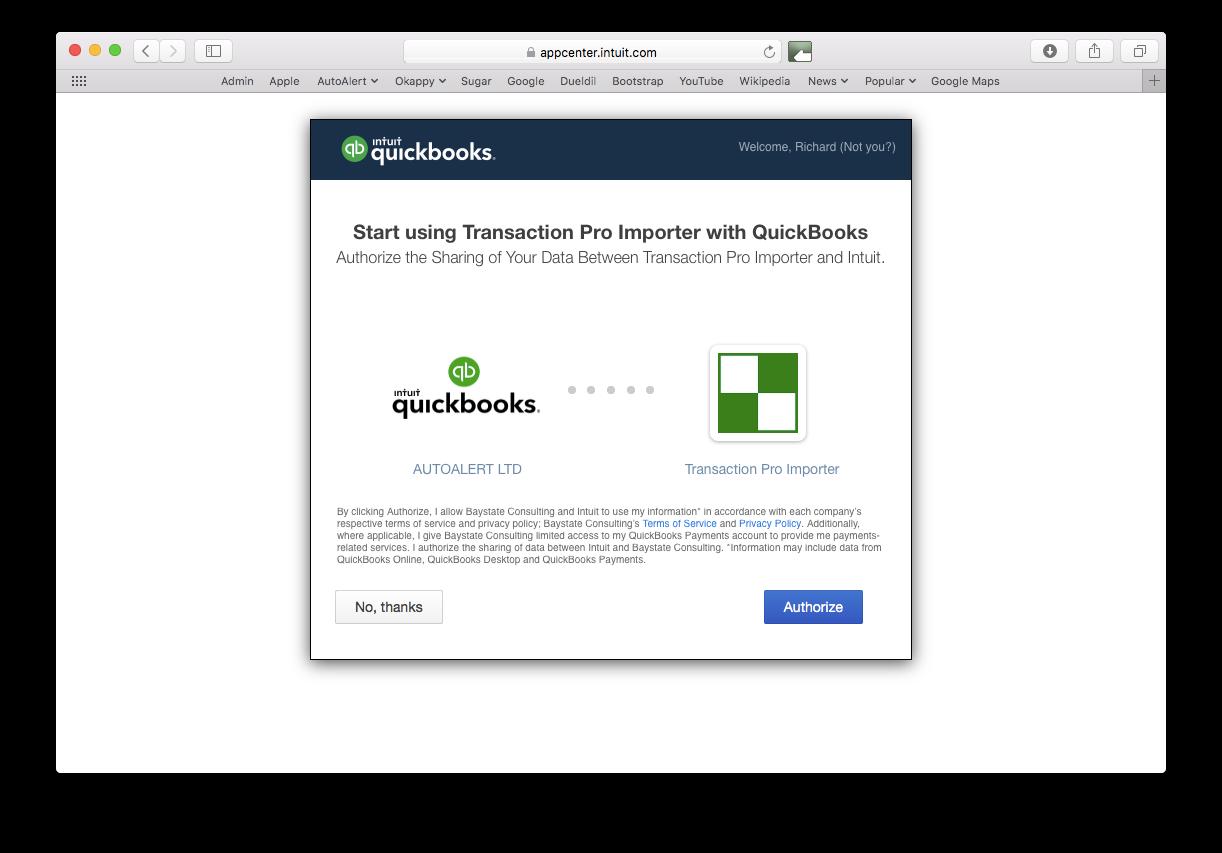 import pdf invoices into quickbooks