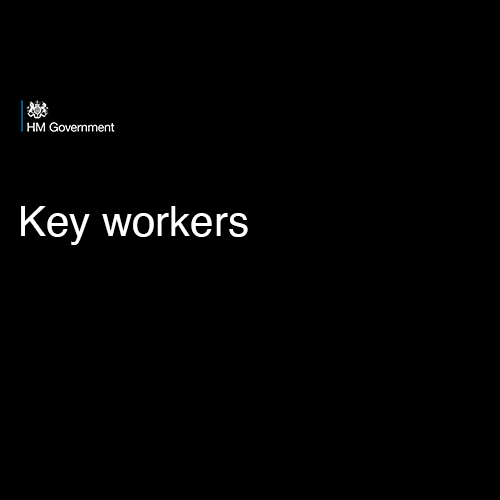 UK Government Key Worker List
