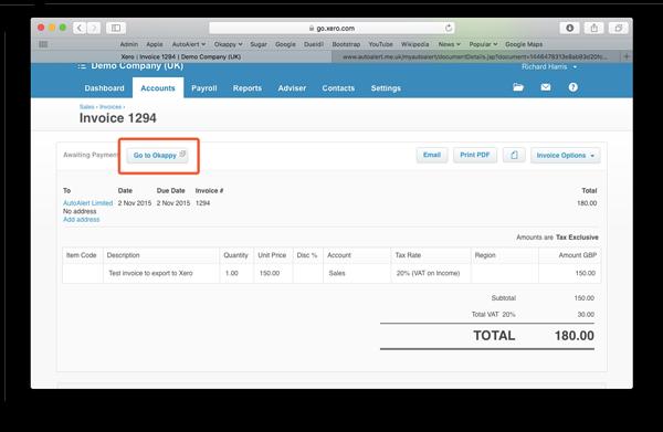 How To Export Your Invoice From Okappy To Xero Accounts