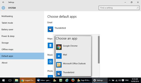 Windows 10 Choose an app