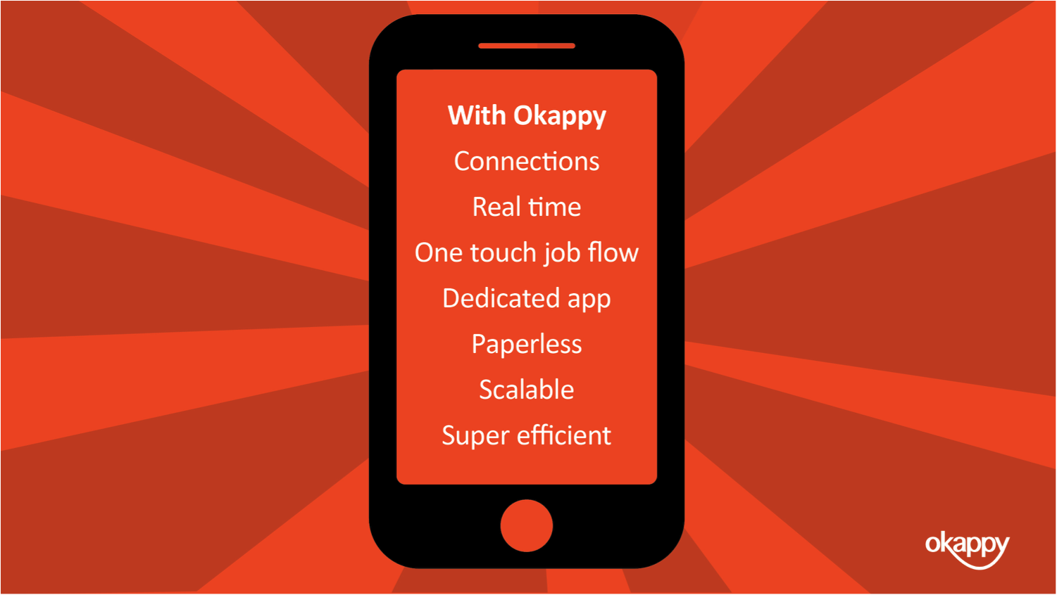 Workforce management improvements with Okappy